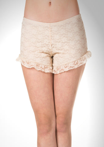 Lace short booty pants - Shop Lev