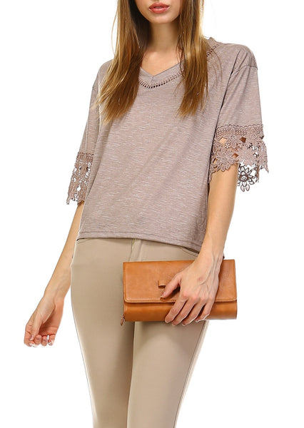 V Neck BOHO Top - Shop Lev
