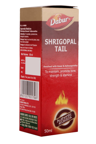 Dabur Shrigopal Tail 50 Ml - Erectile Dysfunction & Other Sex Related Problems