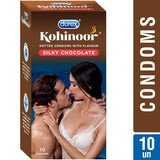 Durex Kohinoor Silky Chocolate 10's Condoms