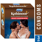 Durex Kohinoor Silky Chocolate 3's Condoms