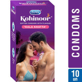 Durex Kohinoor Kala Khatta 10's Condoms (Pack Of 3)