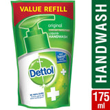 Dettol Liquid Refill Pouch, Original - 175 ML