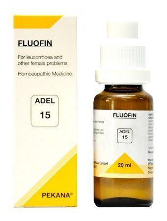 ADEL 15 Fluofin Drops 20Ml For Leucorrhoea (Vaginal discharge) & Other Female Problems