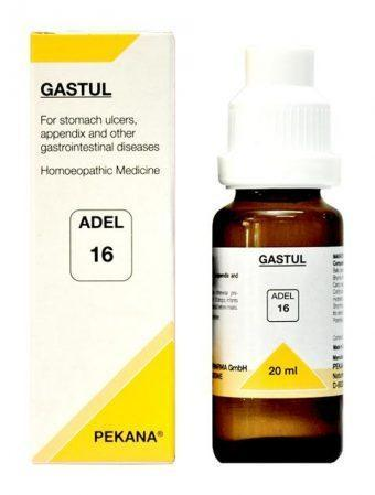 ADEL 16 Gastul Drops 20Ml For Stomach Ulcer, Appendix & Stomach Problems
