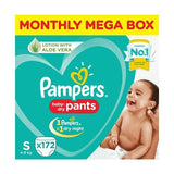 Pampers Pants Diapers Monthly Box - Small Size 172 Pcs
