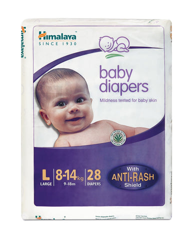 Himalaya Baby Diapers Large (28 Count) - (8-14 kg)