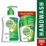 Dettol Original Liquid Hand Wash - 200 Ml With Dettol Liquid Soap Refill - 175 GM