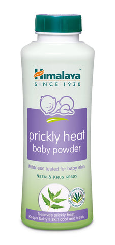 Himalaya Prickly Heat Baby Powder  - Nourishes, Protects & Softens Skin