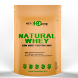 Nutricore's Natural Raw Whey Protein- 80% (1 Kg)