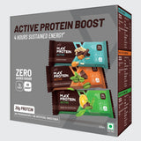 Ritebite Max Protein Active Assorted Bars 414Gm Pack Of 6 (Choco Slim (67 Gm X 2), Green Coffee Beans (70 Gm X 2) & Green Tea Orange(70 Gm X 2))