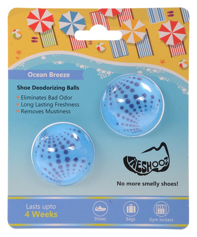 Freshooz  Ocean Breeze Shoe Deodorizing Balls