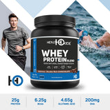 Healthoxide Whey Protein With Stevia, Omega - 500GM (Delicious Double Rich Chocolate)