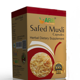 ARR Safed Musli 500Mg 30 Capsule For Arthritis, Cancer, Diabetic, Boosting Vitality, Improving Sexual Performance
