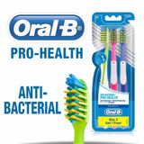 Oral-B Pro-Health Anti-Bacterial Toothbrush Soft Buy 2 Get 1 Free