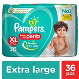 Pampers New Diapers Pants - Extra Large Size 36 Pcs