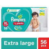 Pampers New Diapers Pants - Extra Large Size 56 Pcs