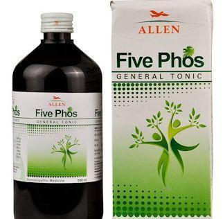 Allens Five Phos Tonic For Weakness & Exhaustion