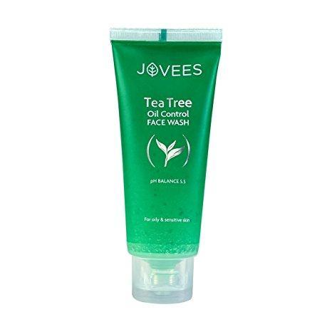 Jovees Tea Tree Oil Control Fresh Wash 120Ml