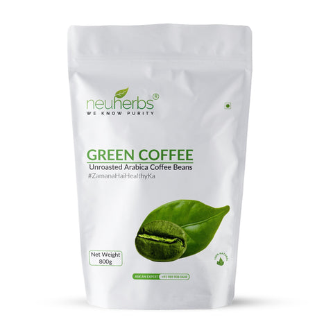 Neuherbs Green Coffee Beans For Weight Loss 800 Gm