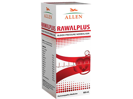 Allens Rawal Plus Syrup For High Blood Pressure, Headache, Irritability, Depression & Sleeplessness