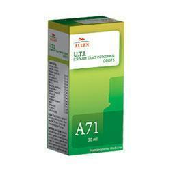 Allen A71 Urinary Tract Infection Drop For Foul Smelling Urine, Pain In Abdomen & Urine With Traces Of Blood