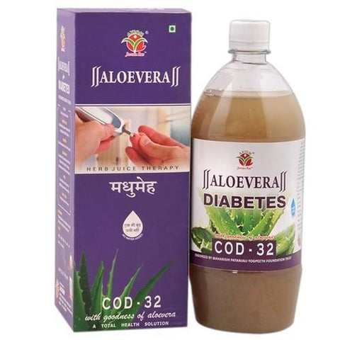 Axiom Aloevera Cod 32 1L For Diabetes