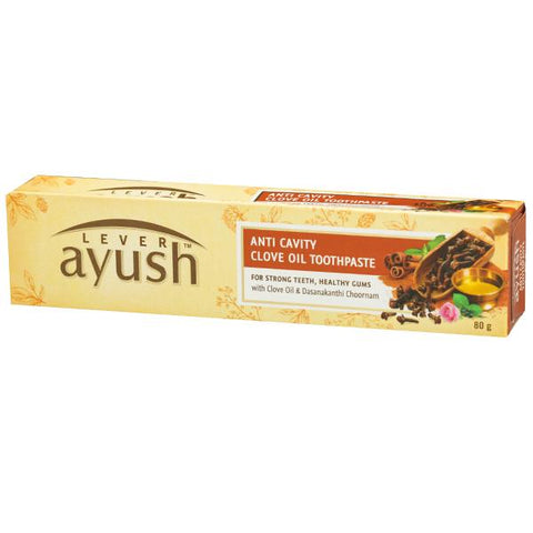 Ayush Anti-Cavity Toothpaste 80 GM