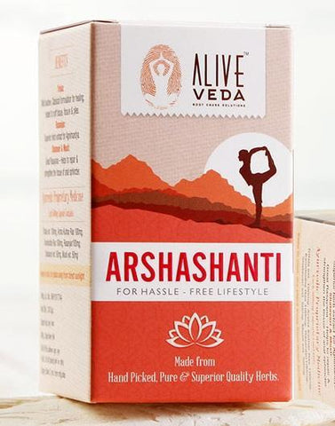 Alive Veda Arshashanti For Piles