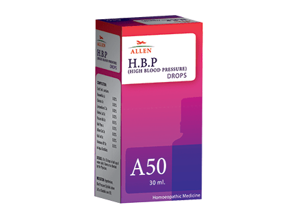 Allen A50 Homeopathy Drops  For High Blood Pressure