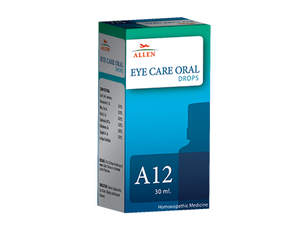 Allens A12 Eye Care Oral Drops