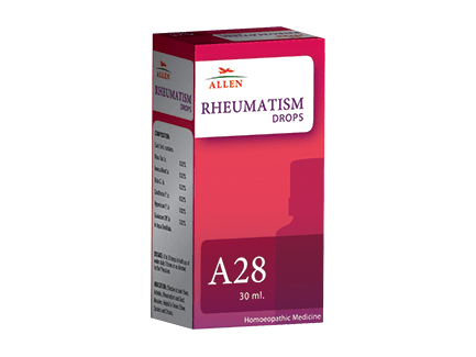 Allens A28 Rheumatism Drops For Arthritis, Joint Pains