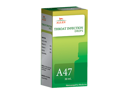 Allens A47 Drops For Throat Infection