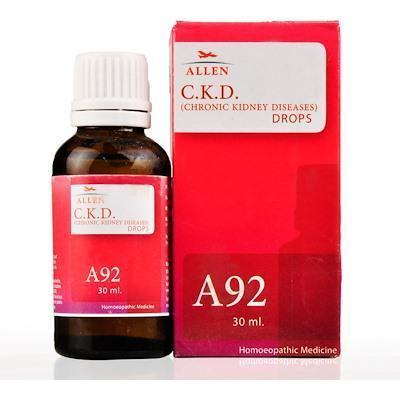 Allens A92 Chronic Kidney Diseases (Ckd) Drops