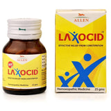 Allens Laxocid Tablet - Regulates Bowels, Relieves Constipation, Bloated Stomach, Flatulence & Gastritis