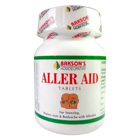 Bakson's Aller AID 200 Tablets For Cold & Body Aches