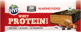 HYP Whey Protein Bar Box Of 6 Bars Almond Fudge