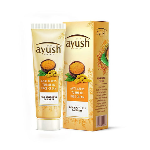Ayush Anti Marks Turmeric Face Cream 50 GM