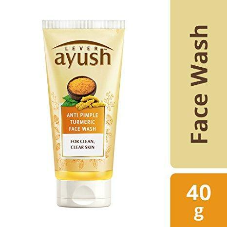 Ayush Anti Pimple Turmeric Face Wash 40 GM