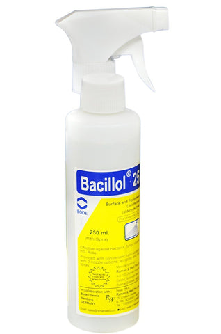 Raman & Weil Bacillol Spray 25 - Skin Surface Disinfectant