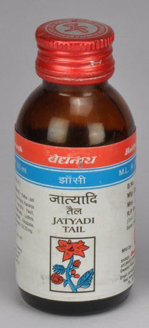 Baidyanath Jatyadi Tail 50ML For Skin Problems, Fungal Infections, Piles
