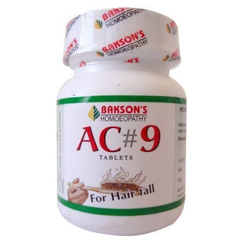 Bakson's AC#9 200 Tablets For Hair Fall