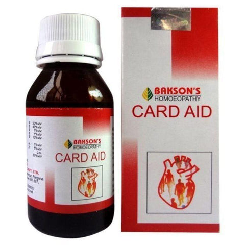 Bakson's Card AID Heart Toner Drop 30 ML (Pack Of 2)