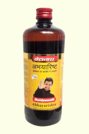 Baidyanath Abhayarishta Syrup 220ML For Chronic Constipation & Piles