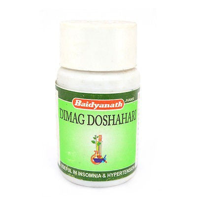 Baidyanath Dimag Doshahari 50 Tablet For Loss Of Memory, Mental Fatigue, Fluctuation In B.P. & Nervous weakness
