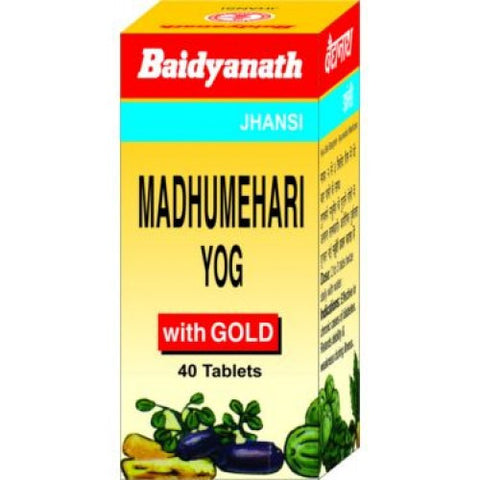 Baidyanath Madhumehari Yog 40 Tablet For Diabetes & Dryness Of Throat