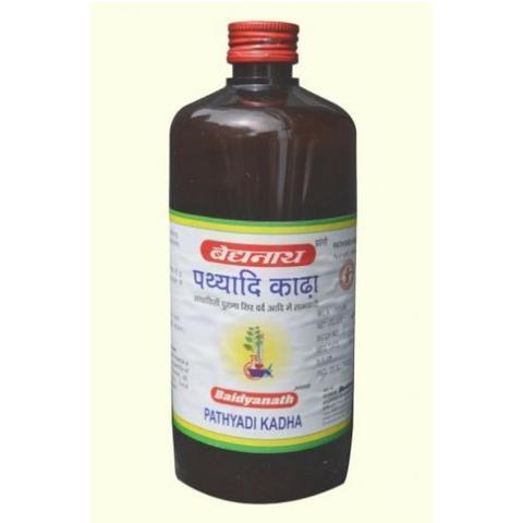Baidyanath Pathyadi Kadha 450 ML For Migraine, Chronic Headaches
