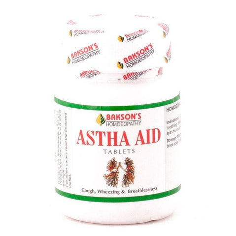 Bakson's Astha AID 200 Tablets For Cough, Wheezing & Breathlessness