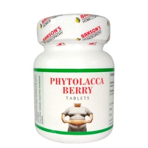 Bakson's Phytolacca Berry 200 Tablets For Weight Loss