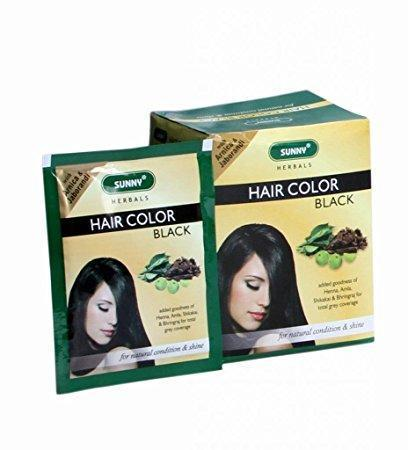 Bakson's Sunny Hair Color (Black) 20 Gm